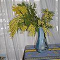 Bouquet de mimosa