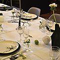 Une décoration de table élégante et originale