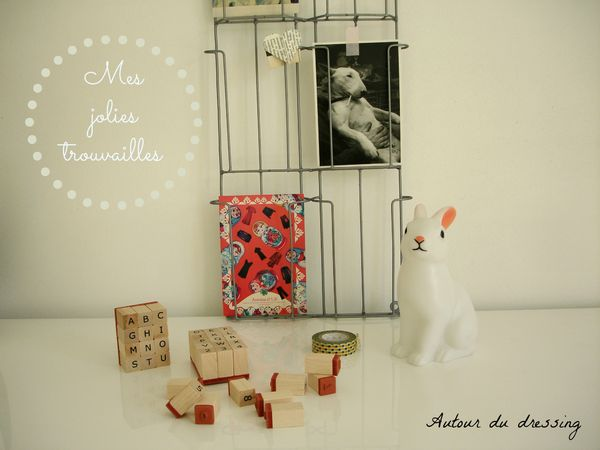 lovely tape porte photo tampon alphabet et lampe lapin 2