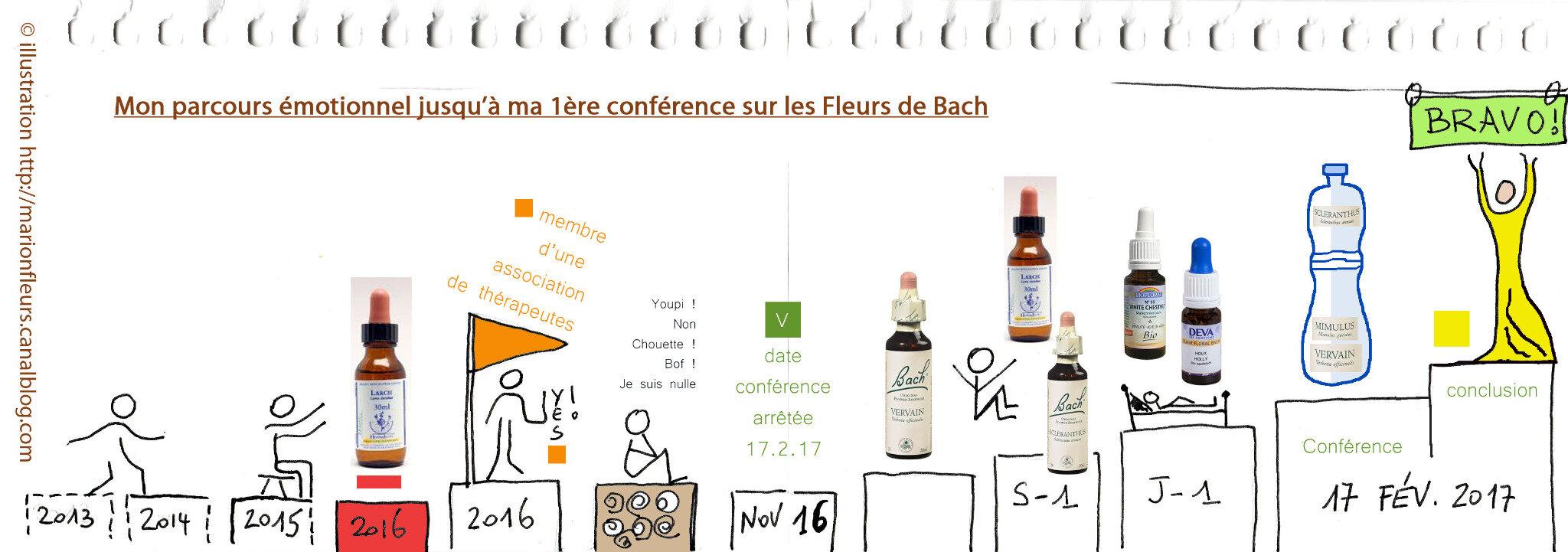 Je donne ma 1ère conférence sur les Fleurs de Bach - cheminement de mes émotions / Article de Nathalie / FDB : variées