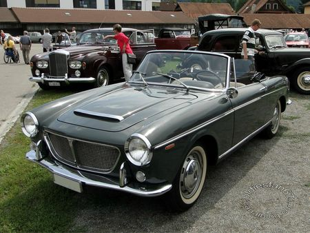 fiat 1200 tv spider, 1957 1963, osmt zug 2012 3