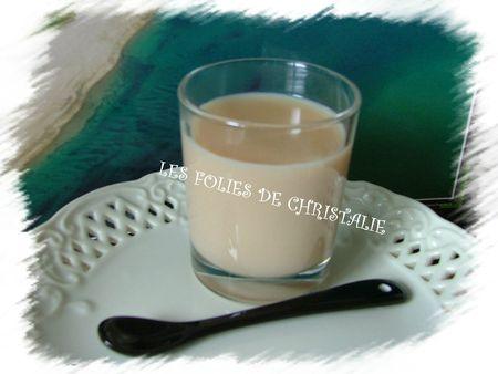 Crème légère au caramel 1