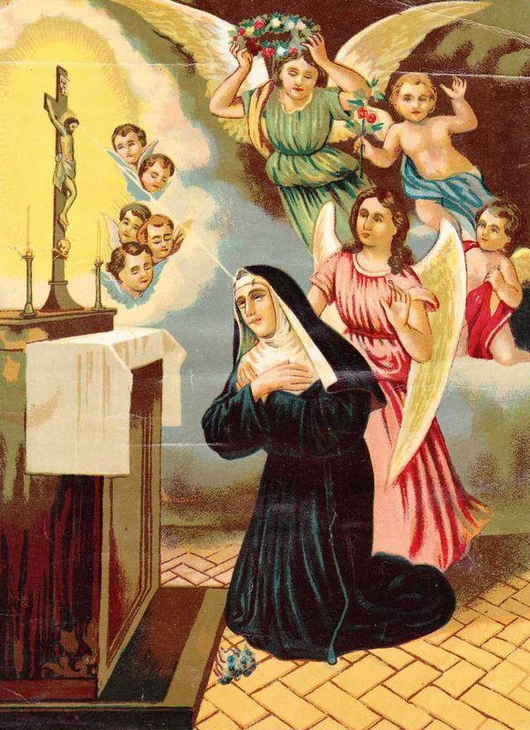 Bien connu Les 15 jeudis de Sainte Rita 6/15 - images saintes CY58