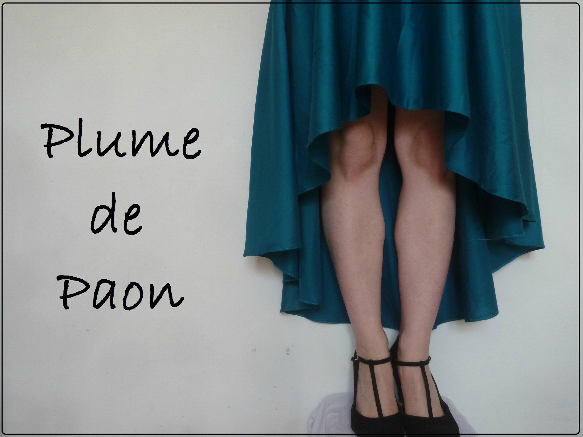 Ma robe Plume de Paon ♥ ♥ ♥