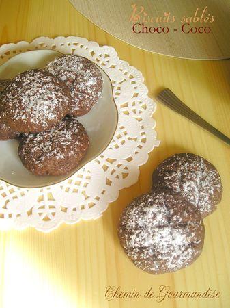 Biscuits sablés choco-coco facebook
