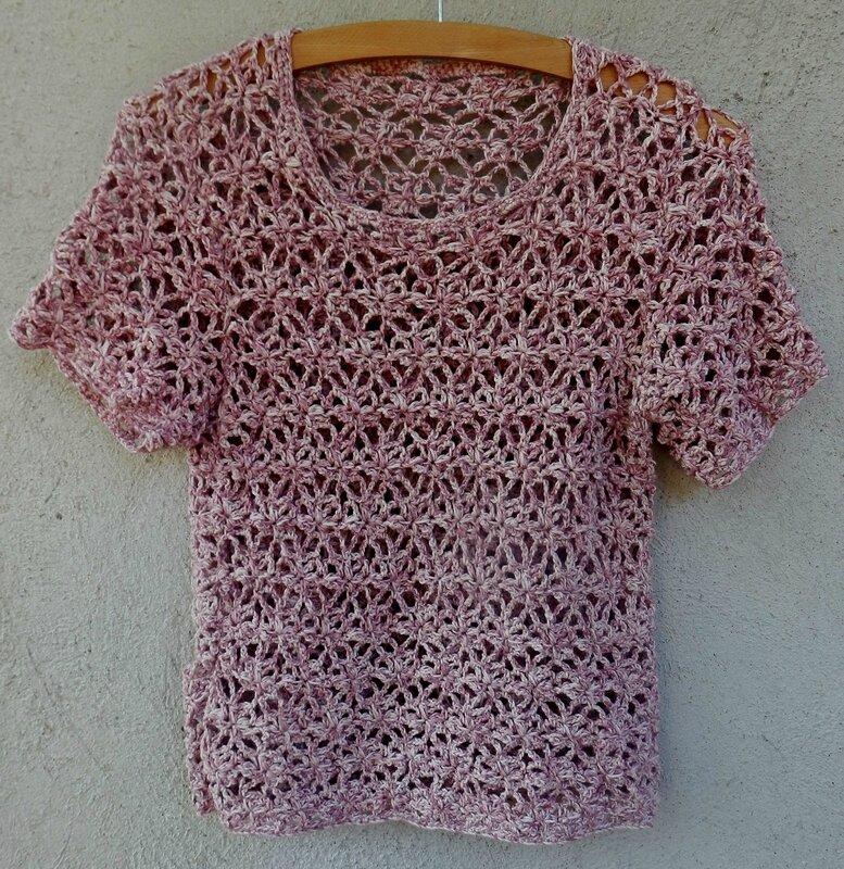 pull rose crochet