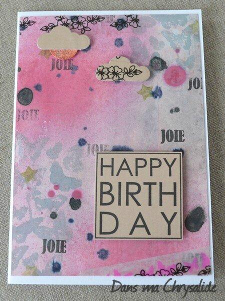 Carte anniversaire LadyKat2
