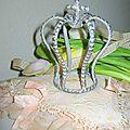 Petite couronne métal