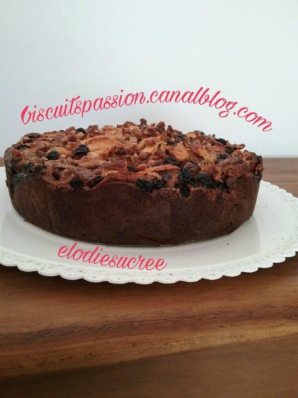 Gros gâteau aux pommes 129