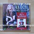 CD promotionnel Alice-version néerlandaise (2010)