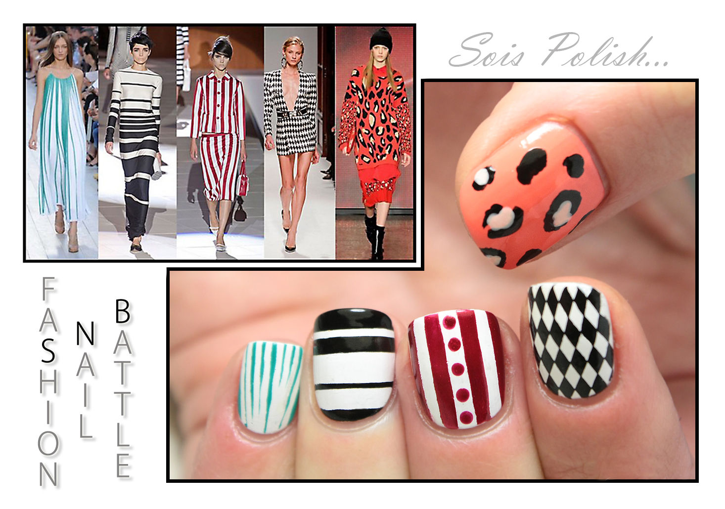 The Sunday Nail Battle #43 - Fashion Show