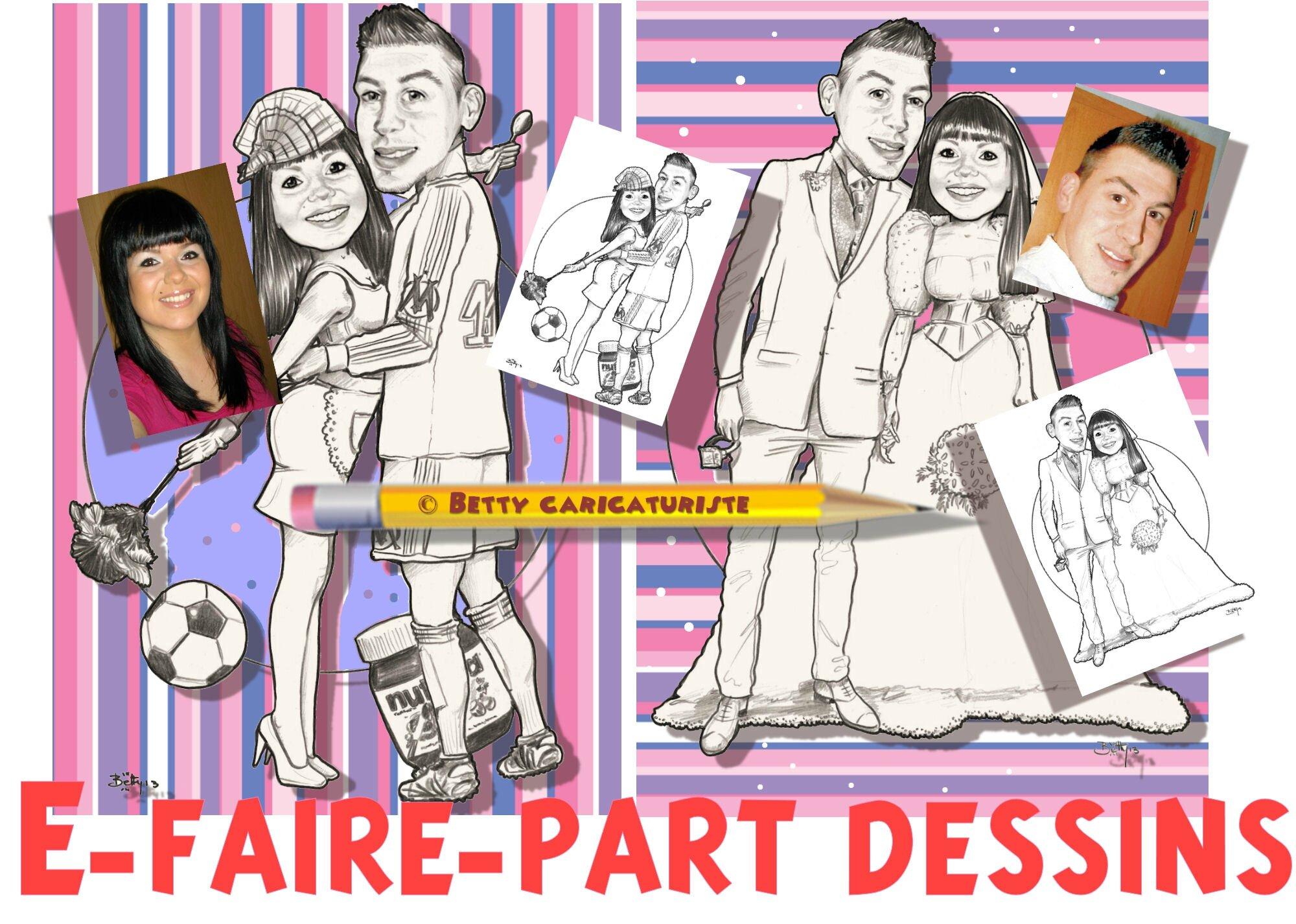 e faire part mariage caricature - Faire Part Mariage Gay Humoristique