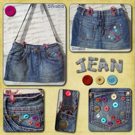Jean & boutons