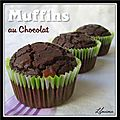 Muffins au chocolat meilleurs qu'au Mc Donald's...
