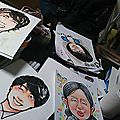 Portraits manga, on adore !