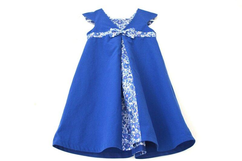 Robe Mademoiselle Betsy Indigo (2)