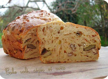cake salé cèpes noix (scrap1)