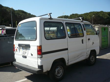 SUZUKI Super Carry van Lloret de Mar (2)
