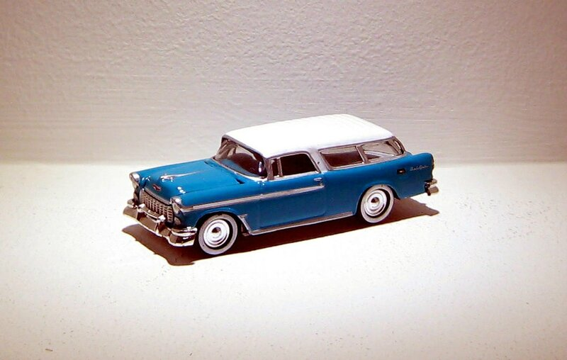 Chevrolet nomad de 1955 (Johnny Lightning) 01