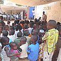 Centrafrique : celcia appuie des enfants en kits scolaires