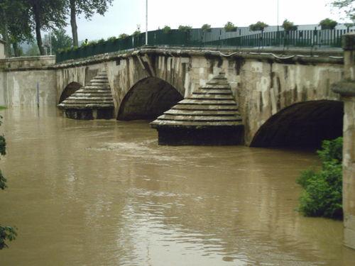 Le pont , côté padouen