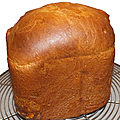 Brioche a la machine a pain