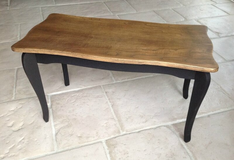 L 39 atelier d 39 ema for Table basse en bois noir