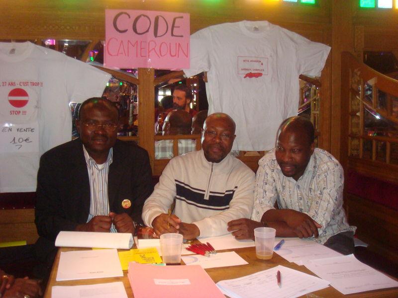 Tene, Essoh, Ndjoumi au stand du CODE