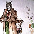 Blacksad aquarelle WIP suite