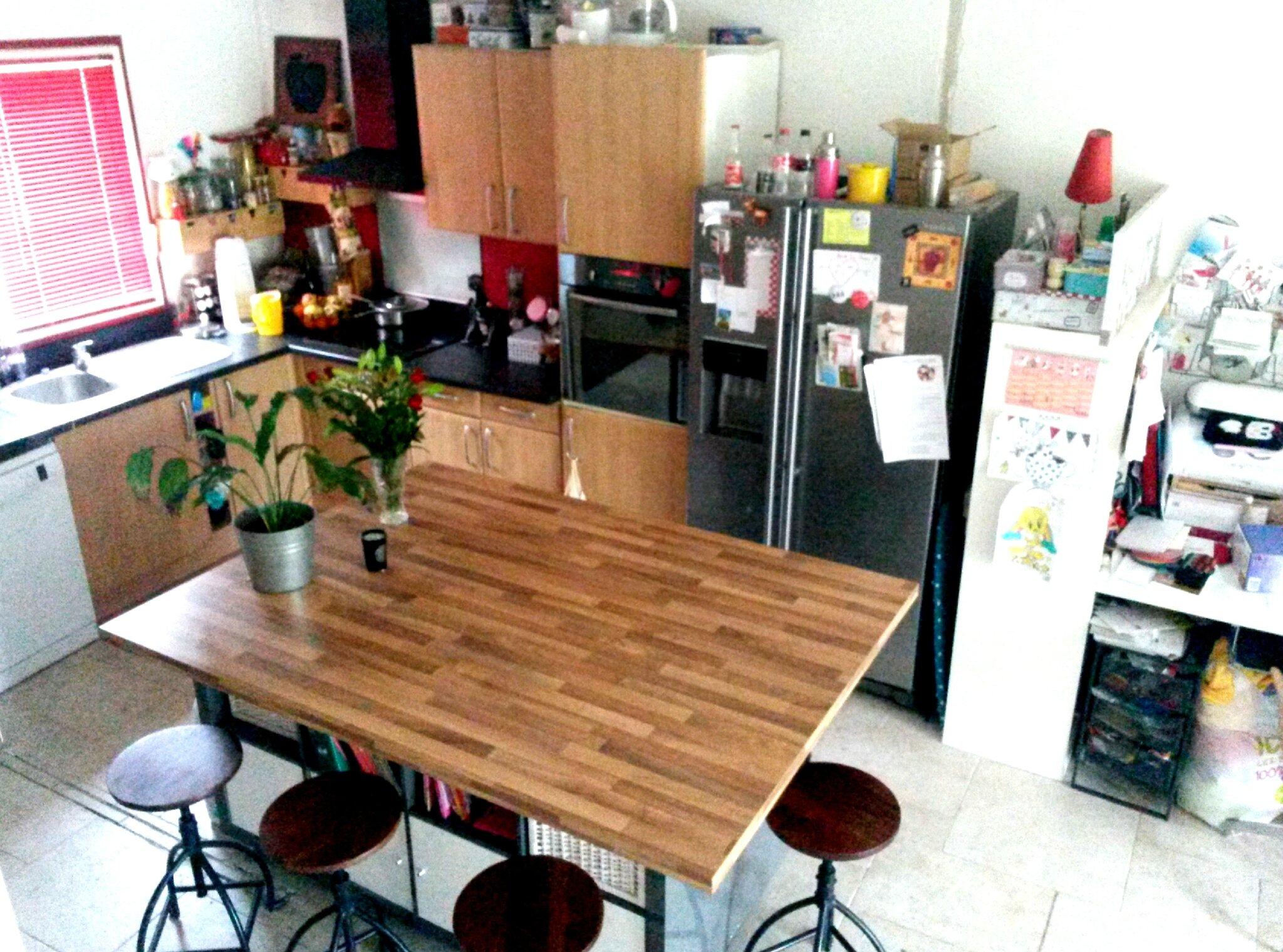 Faire Ilot Central Pas Cher ~ Cuisine Salon Pisode 3 Et Fin Papier Caillou Ciseaux Le Blog