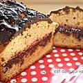 Gâteau au yaourt chocolat/ framboises , sans gluten