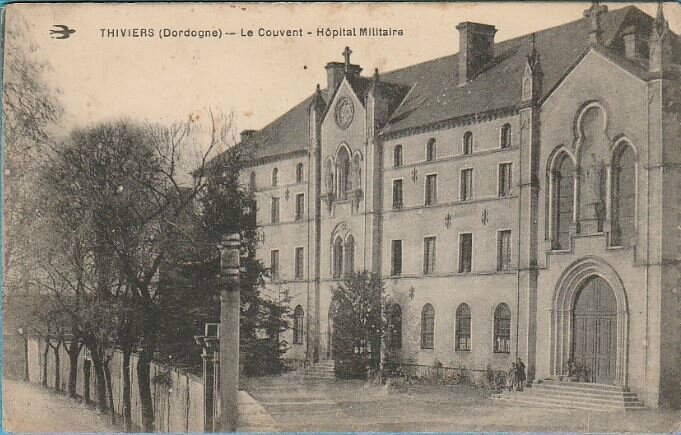 CPA Thiviers hôpital militaire