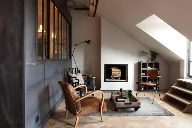 Un appartement parisien sonia saelens d co for Interieur appartement parisien