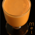 Smoothie melon-coco-ribot