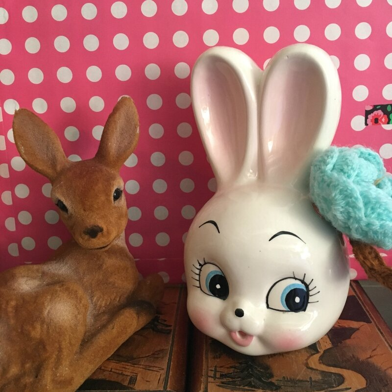 lapin ficelle et bambi