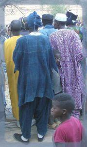 Vêtement traditionnel Dogon Mali