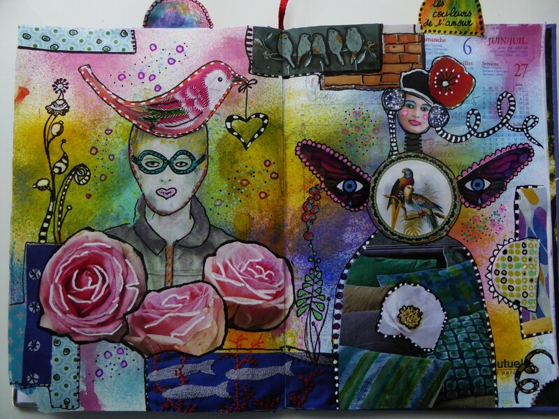 art journal love to love 2
