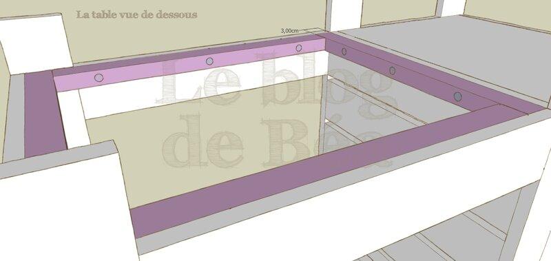 Table basse en bois de palette et coffre de rangement