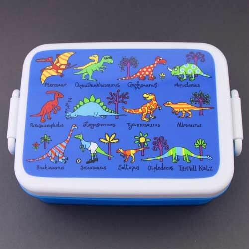 Boite à déjeuner, lunch box sans BPA dinosaures Tyrrell Katz