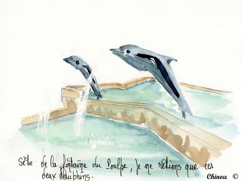 Fontaine du poulpe - Sète