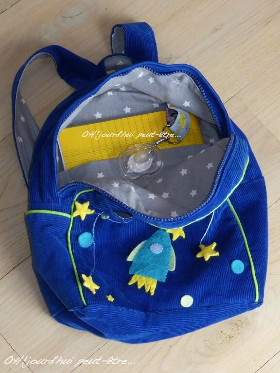 OH! sac a dos étoiles 09