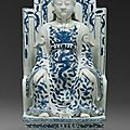 Sculpture of xuanwu (daoist deity of the north). chinese, ming dynasty, wanli period, 1573–1619