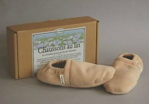 Chaussons lin - 2