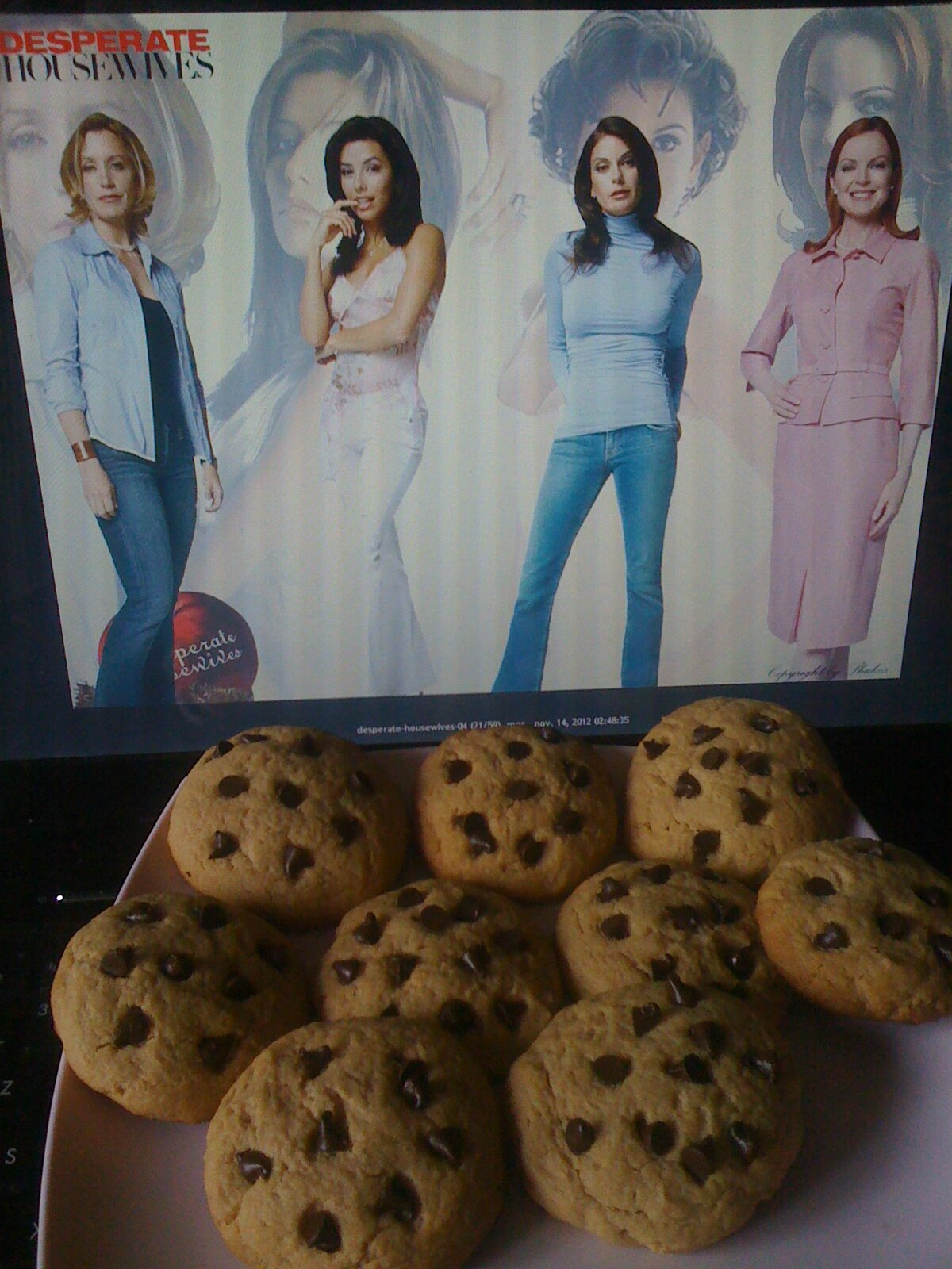 les cookies de desperate housewife!