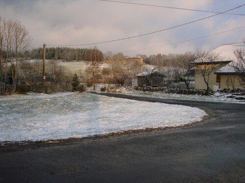 2008 04 14 Voici la neige tombé en 5 minutes il y a 5 minutes