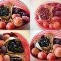 Quand un panier de fruits violets fini en smoothie rouge ...