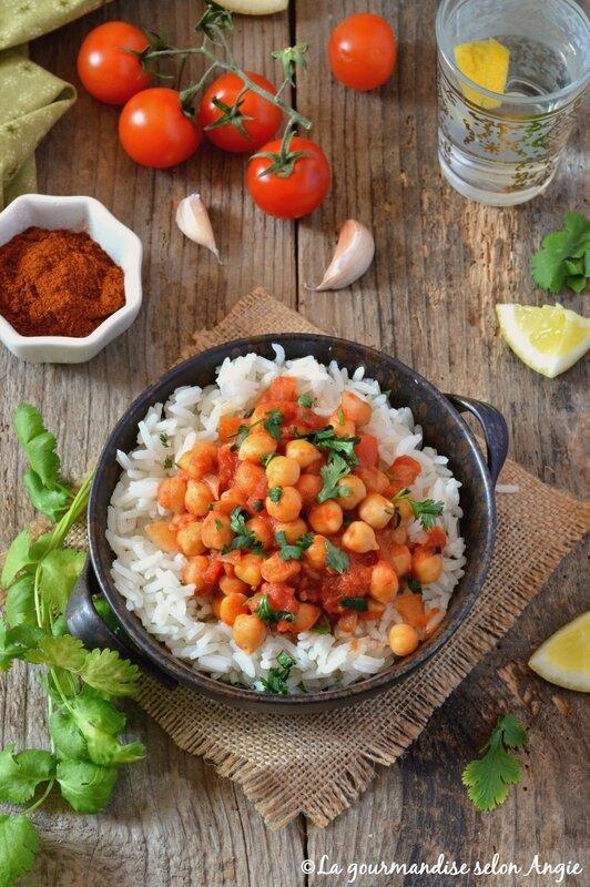 recette chana masala vegan