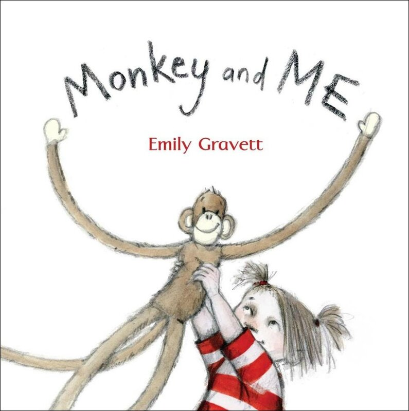Book Cover monkey and me