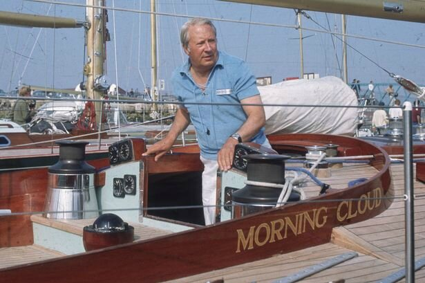 Edward-Heath-on-his-yacht-Morning-Cloud