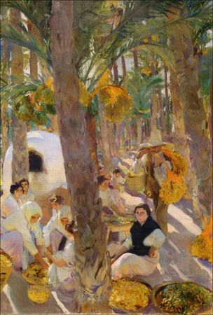 Sorolla_El_palmeral_Elche_Collection_Hispanic_
